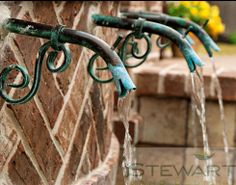 At Stewart Land Designs we specialize in the design and installation of custom pools, irrigation, lighting, pavers, retaining walls and water features. Custom Pools, Garden Gates, Water Features, Garden Inspiration, The Great Outdoors, Fountain, Outdoor Living, Swimming Pools, Home And Garden