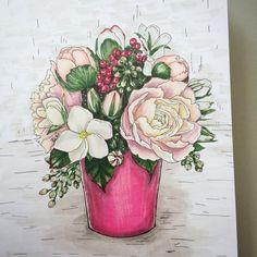 И снова цветы. На сей раз более сложная композиция.🌺😀 #ssc_janelipart