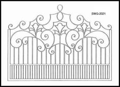 We hand make wood and iron gates in any style - limited only by your imagination. Description from artfactory.com. I searched for this on bing.com/images