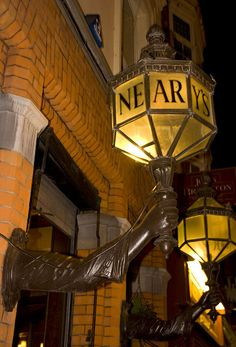 Almost a beacon of light for the weary-Nearys Pub - Dublin