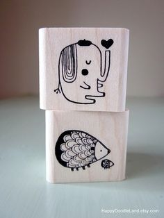 elephant & hedgehog