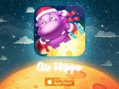 Mobile Game Icon — Air Hippo by Smorodina