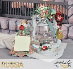 Altered- St.Nicholas- turorial by Lena Astafeva-products Graphic 45 -25