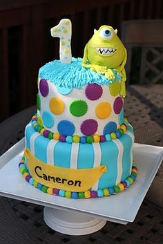 1000 Images About Monsters Inc Cakes On Pinterest
