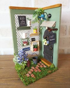 2017.03  Miniature Dollhouse Corner Coffee ♡ ♡ By  day by day