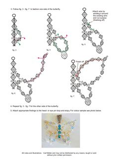 Best 12 Beaded Dragonfly (Free Patterns) – Page 133348838949728702 – SkillOfKing.Com - Her Crochet Beaded Crafts, Beaded Ornaments, Jewelry Crafts, Handmade Jewelry, Seed Bead Jewelry, Bead Jewellery, Beaded Jewelry Patterns, Beading Patterns, Beaded Dragonfly