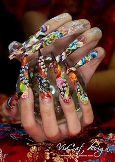 Catherine Wong and Viv Simmonds It's all about the Art of Nails