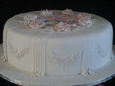 1 layer wedding cakes | Your Cake Photographs: Single Layer Wedding ...