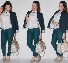 look do dia - como usar calça colorida e blazer - blog de moda