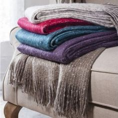 Bed Throws - Throws for Beds - Large Sofa Throws Mohair Blanket, Faux Fur Blanket, Mohair Throw, Sofa Throw, Throw Cushions, Large Throws For Sofas, Teal Throws, Velvet Bedspread, Waffle Blanket