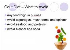 List of Purine Rich Foods to Avoid: Gout Diet