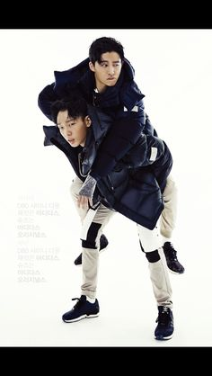 B.I. and Bobby December 2014 High Cut Magazine