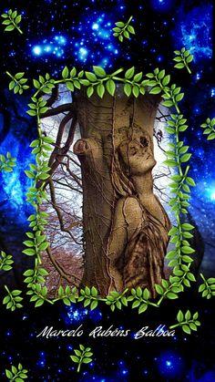 En las pupilas del árbol de las despedidas brotan las hojas verdes de recuerdos, y caen al desconsuelo las semillas, empapadas de lágrimas...