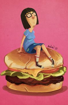 BobsBurgers- Tina Fanart by Kalegiro on DeviantArt Tina Belcher, Bobs Burgers, Snow White, Disney Characters, Fictional Characters, Character Design, Animation, Fan Art, Deviantart