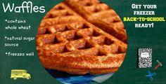 freezer waffles EAH