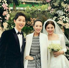 seoul, korea- october chinese actress Zhang ziyi attending the wedding of korean top star Song Joong Ki and Song Hye Kyo , Song Hye Kyo, Song Joong Ki, Wedding Songs, Wedding Pics, Wedding Ideas, Decendants Of The Sun, Zhang Ziyi, Songsong Couple, Private Wedding
