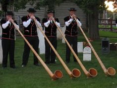 Got to love those alphorns! MY DAD IS IN THIS PHOTO!! :)