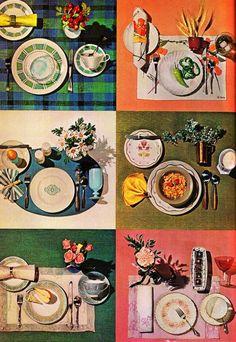 Visit the post for more. Vintage Images, Vintage Modern, Vintage Recipes, Food Illustrations, Food Presentation, No Cook Meals, Installation Art, Food Art, Tea Party