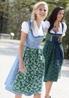 Süße #Dirndl und fesche #Mädels - #bavarian #style :-)