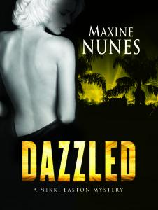 Dazzled by Maxine Nunes    Author Interview on #Mysteristas blog