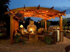 As more and more of us take the entertaining outside, we are getting creative with our living spaces such as pergolas, patios, porches and pavilions. Whether you want a clever way to hang a swing, a bit of shade, or an attached living space that houses an outdoor kitchen and lounging area, you're su