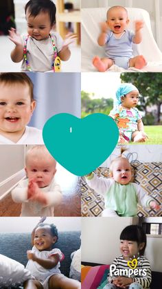 Pampers is here to help every parent through the changes a baby brings. Feel the love from other parents, who are sharing the words of encouragement that remind them they're a good parent on even the toughest days Funny Babies, Funny Kids, Cute Kids, Cute Babies, Baby Kids, Baby Boy, Beautiful Children, Beautiful Babies, Cute Baby Videos