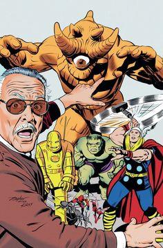 Os Vingadores: Monstros Desencadeados por Stan Lee.