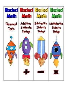 Rockin' Teacher Materials: rocket math - I use and love this program! Great to see ways to organize it! Second Grade Math, 4th Grade Math, Grade 2, Math Resources, Math Activities, Summer Activities, Outdoor Activities, Material Do Professor, Math Classroom