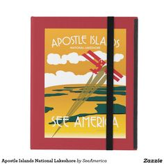 Apostle Islands National Lakeshore iPad Cover design by See America