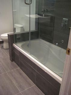 best remodel for tub shower enclosure | using bathtub shower combination including sliding shower wall and ... #ShowerPanels