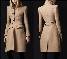 Perfectly elegant tan trench from Burberry...