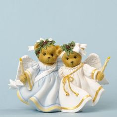 Cherished Teddies Angels Came Down and Love Shone All Around by Enesco, http://www.amazon.com/dp/B00BM6YGRE/ref=cm_sw_r_pi_dp_3hyasb0Y0G742