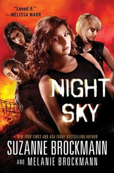 """Night Sky (Night Sky series), by Suzanne Brockman- The main character displays characteristic """"that go beyond the ordinary or scientific,"""" to borrow from our group definition of paranormal fantasy. Her blood contains a hormone that make her a superhuman, though this gets her into trouble when she becomes hunted for the very hormone that gives her these abilities."""