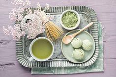 Recetas con té matcha