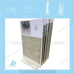 custom holding display MDF boards with stong display stand