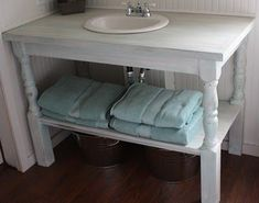 bathroom vanity diy | DIY Bathroom Vanity - Just like my grandma's :) | For the H o m e