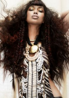 Lions Mane look by Mark Leeson - afro?just big and beautiful African Hairstyles, Afro Hairstyles, Bohemian Hairstyles, Big Hair, Your Hair, Short Hair, Curly Hair Styles, Natural Hair Styles, Mädchen In Bikinis