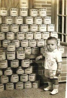 Leites Ninho alimentando a criançada desde antes de 1965 Imagem enviada por Edson Lopes Frazão Snapchat => coisavelha