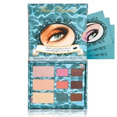 """Summer Eye Summertime Sexy Shadow Collection: """"This fabulous collection includes fun pops of summer color in coral, pink and aqua complimented with beachy neutrals and seductive shimmery browns..."""""""