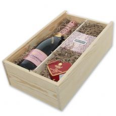 View Moet and Chandon Rose and Perfume Gift Box