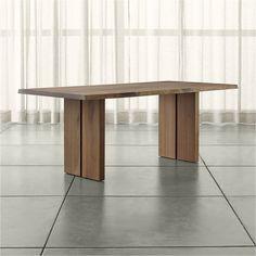 "Dakota 77"" Dining Table - Crate and Barrel"