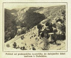 Prokopský lom, Prokopské údolí 1923 Snow, Outdoor, Outdoors, Outdoor Games, The Great Outdoors, Eyes, Let It Snow