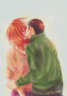 I wish the anime went into their relationship more. Totally ship Chizu and Ryu.