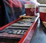 type coffee tray