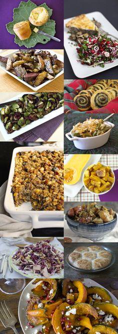 12 Christmas Dinner Side Dishes on Babble!  @Gaby Dalkin @Sarah Glyer @Aimee   Simple Bites @Kathy Strahs   Panini Happy @Shauna Ahern @Amy Johnson / She Wears Many Hats  @RecipeGirl {recipegirl.com} @Mom's Kitchen Handbook by Katie Morford @Kim Beaulieu   Cravings of a Lunatic