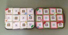 Muffin Pan Homemade Magnet Advent Calendar