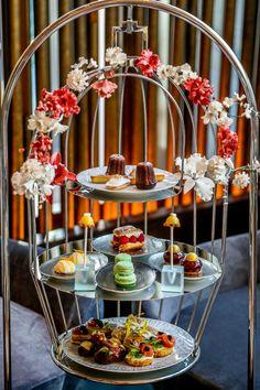 Afternoon Tea at La Patisserie Lounge, Sofitel Dubai Downtown