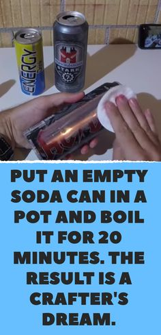 Remove The Painted Labels From Soda Cans And Use Them In Home.,/ - Real Time - Diet, Exercise, Fitness, Finance You for Healthy articles ideas Little Presents, Thinking Day, Just In Case, Boards, Nutrition, Weight Loss, Good Things, Amazing Things, Skin Care