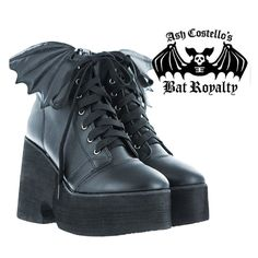 Bat Royalty Bat Wing Boot