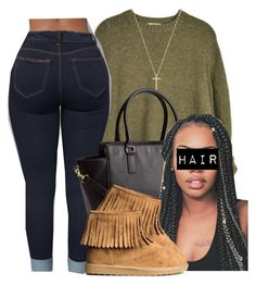 """""""Untitled #498"""" by princess-miyah ❤ liked on Polyvore featuring Banana Republic, Gucci and H&M"""